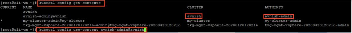 Credential-clustername