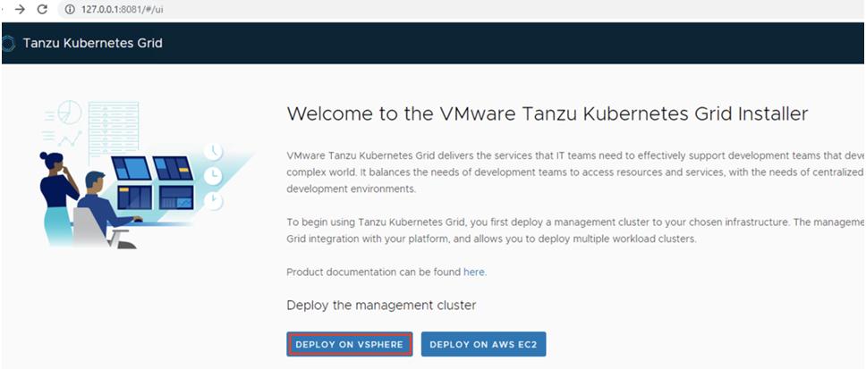 VMware-Tanzu-Kubernetes-Grid-Installe